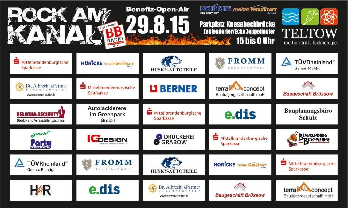 Rock am Kanal 2015